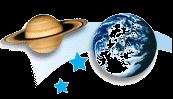 ster en planeet