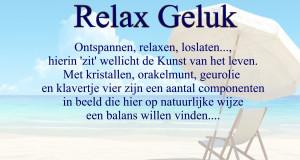 Relax Geluk